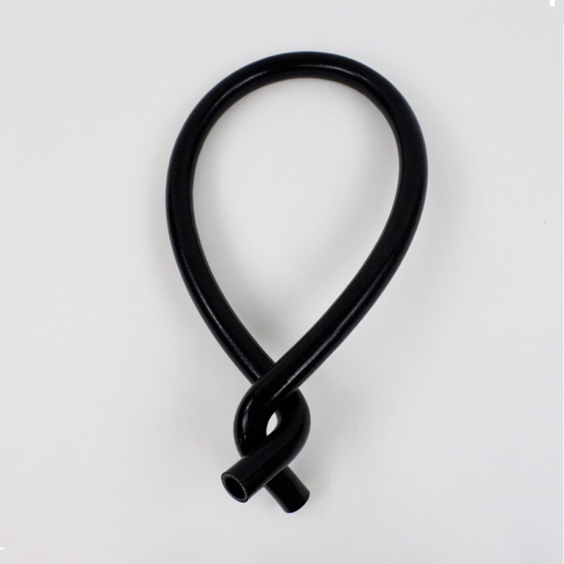 SILICON-HOSE-DOUBLE-BEND-90'-black